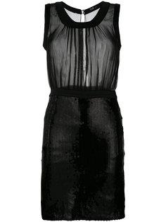 платье с пайетками Dolce & Gabbana Vintage