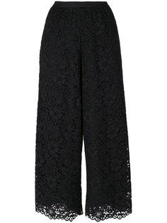укороченные кружевные брюки  Antonio Marras