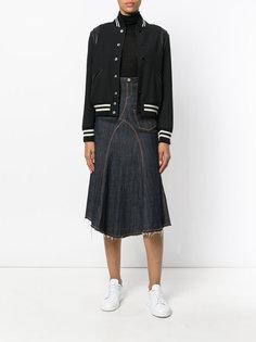 джинсовая юбка миди Jean Paul Gaultier Vintage