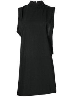 платье с асимметричными плечами Comme Des Garçons Vintage