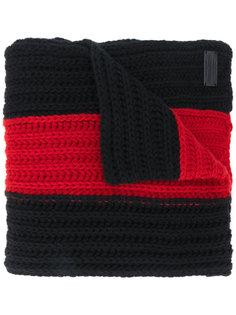 полосатый трикотажный шарф Dsquared2