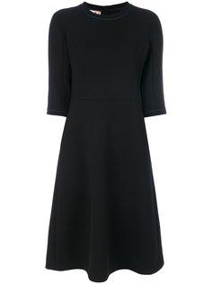 расклешенное платье шифт Marni