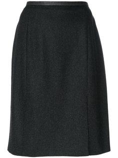 юбка с разрезом Yves Saint Laurent Vintage