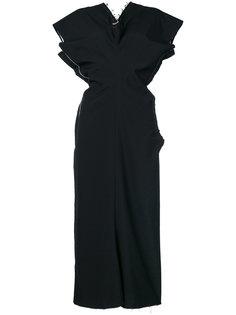платье с необработанными краями Comme Des Garçons Vintage