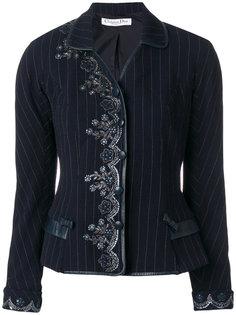 жакет с вышивкой Christian Dior Vintage