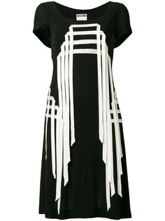 платье с отделкой Moschino Vintage