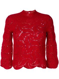 вязаный крючком свитер Comme Des Garçons Vintage