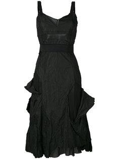 платье с рваными деталями без рукавов Christian Dior Vintage