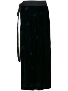 бархатная юбка в горох Comme Des Garçons Vintage