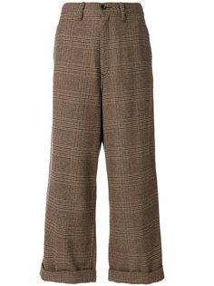 широкие твидовые брюки Comme Des Garçons Vintage