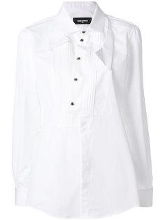 рубашка с бантом  Dsquared2