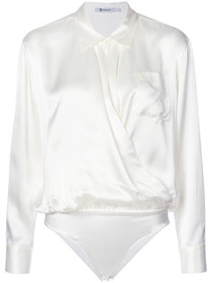 блузка с воротником Alexander Wang