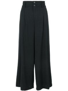 широкие брюки с высокой талией Comme Des Garçons Vintage