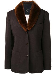 куртка с воротником из искусственного меха Jean Paul Gaultier Vintage