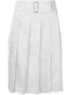 юбка с запахом в горох Comme Des Garçons Vintage