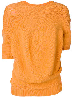трикотажный асимметричный свитер Comme Des Garçons Vintage