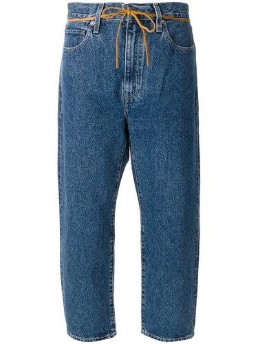укороченные джинсы со шнурком  Levi's: Made & Crafted