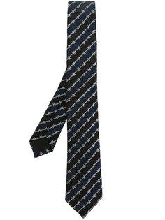 галстук в полоску Givenchy