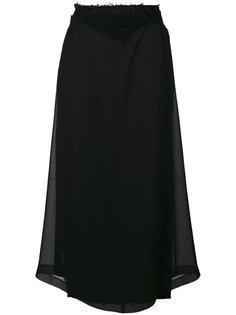 юбка миди с эффектом вывернутой наизнанку Comme Des Garçons Vintage