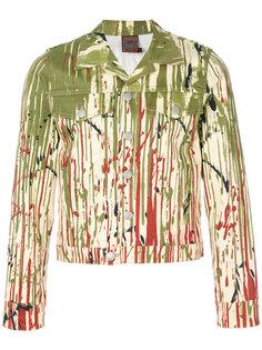 куртка с эффектом краски Jean Paul Gaultier Vintage