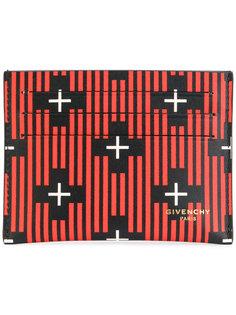полосатая визитница с крестами Givenchy