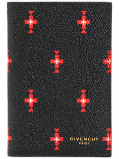 визитница с принтом крестов Givenchy