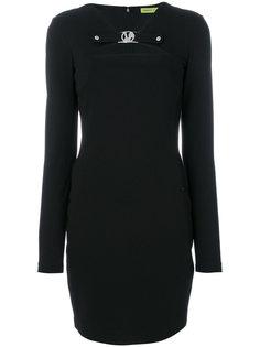 классическое приталенное платье  Versace Jeans