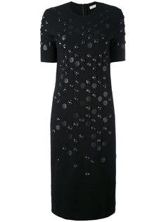 платье с отделкой пайетками Nina Ricci