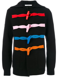 кардиган с контрастной петельной застежкой Givenchy