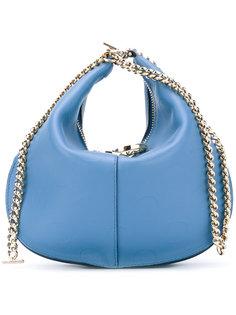 сумка-седло на цепочке Nina Ricci