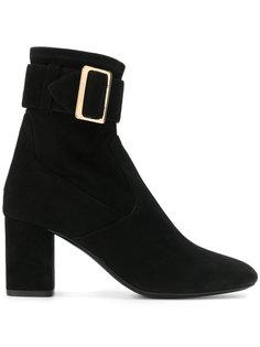 ботинки с пряжкой на щиколотке Burberry