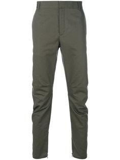 брюки в байкерском стиле Lanvin