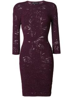 кружевное платье Baroque Versace