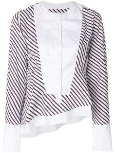 полосатая блузка Carven