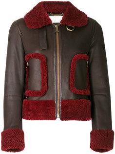 куртка с отделкой цигейкой  Chloé