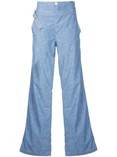 джинсы клеш с завышенной талией  Chloé