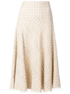 твидовая юбка Alexander McQueen