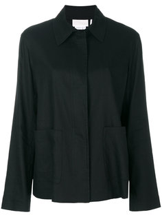 классическая приталенная куртка с драпировкой  DKNY