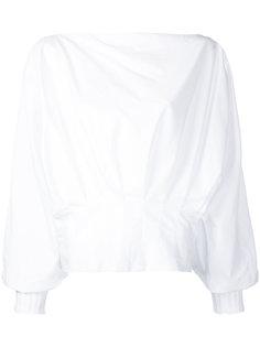 блузка со складками Starr Christopher Esber