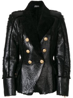 двубортная куртка Balmain