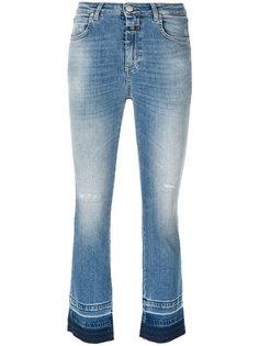 джинсы скинни с выцветшим эффектом Closed