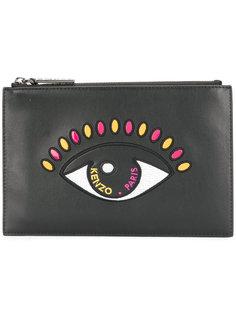 клатч с изображением глаза Kenzo