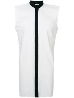contrast sleeveless shirt  Unconditional