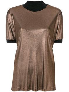 блузка с отделкой металлик Fabiana Filippi