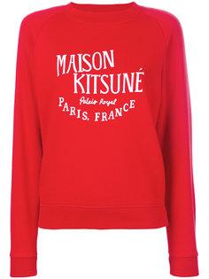 толстовка с принтом Palais Royal Maison Kitsuné
