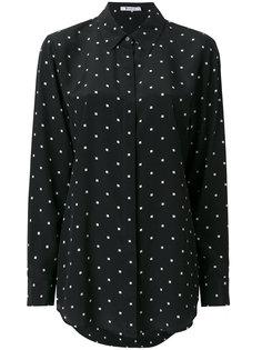 рубашка с принтом  T By Alexander Wang