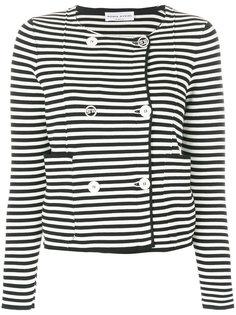 приталенный пиджак в полоску  Sonia Rykiel