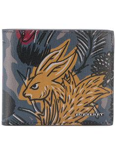 бумажник с принтом Burberry