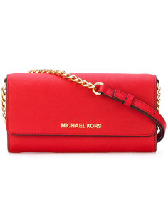 клатч Jet Set Travel Michael Michael Kors