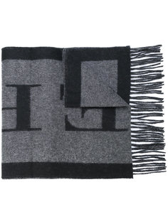 шарф с логотипом Burberry
